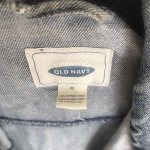 Old Navy Jackets & Coats - Distressed denim jacket!